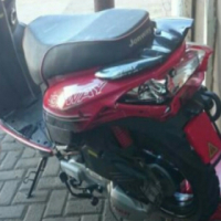 Accident damaged Jonway 150cc scooter