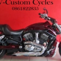 Very Special Totally Customized V ROD with Loads of Extras!