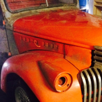 1942 Chevy pickup project