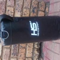Small Black Headstart Punching bag