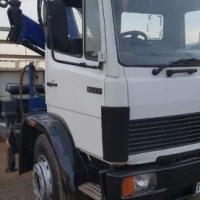 Mercedes Benz 1617 Crane Truck PM 14 Ton