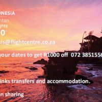 R1000 discount on Any Club Med or Trafalgar holiday pacage