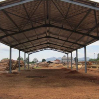 COMPLETE STEEL STRUCTURE FOR SALE