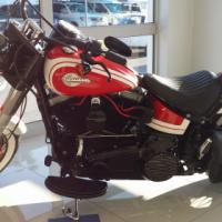 Harley Davidson Softail- Captain America
