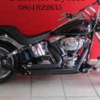 Well Looked After Softail Custom with Lots of Extras!