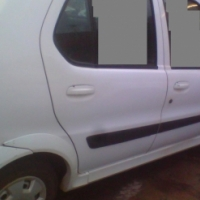 TATA INDICA SET OF RIMS WITH TYRES AND HUB CAPS