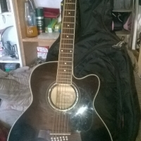 Ibanez 12-string acoustic guitar