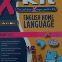 English Home Language - Grades 11 & 12 - X-Kit.