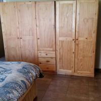 3 door and 2 door pine wardrobes