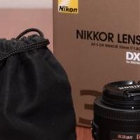 Nikon 35mm f/1.8 DX Lens