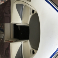 17ft bow rider boat for sale with 140hp Suzuki motor