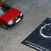 Rare Theater Foyer Poster of The Ring