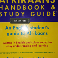 Afrikaans Handbook & Study Guide - Beryl Lutrin.