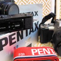 PENTAX LX-1 / MOTORDRIVE / 2x CONVERTER / STRAP AND ALSO PENTAX MZ-5 CAMERA