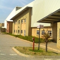 Industrial warehouse space for rent in Germiston.