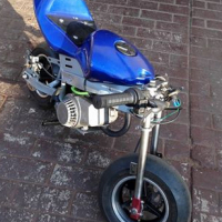 50cc pocket bike