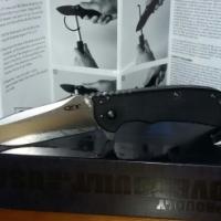 Zero Tolerance 0566 pocket knife Black G10 stonewashed