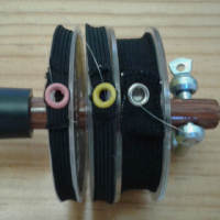 Tippet Spool Holder - Wood Model