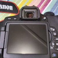 Canon 750D digital Camera with accessories