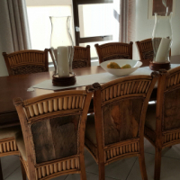 Weatheleys 8 Seater Table and Chairs