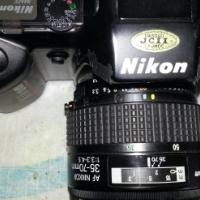 Nikon Model F-401 SLR Camera with 35-70 mm Lens & Nikon Pro Speed Light Flash SB-25