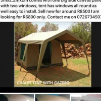 Tent chalet gazebo