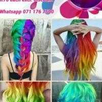 Skullour neon hair dye