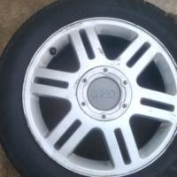 4 x Audi rims + Tyres