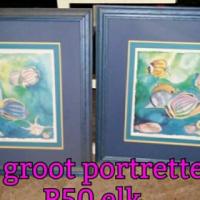 2 Groot portrette