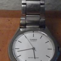 Casio stylish men wrist watch, water resist, quartz, new battery.