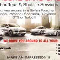 Porsche Cars Only Chauffeur & Shuttle Services