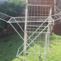 2 x Portable washing lines for sale