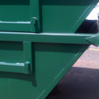 Immaculate skip bins