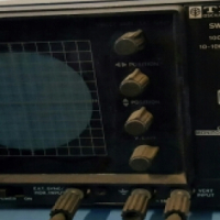 Oscilloscope TRIO Kenwood CO-1303G with RF