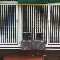 Twin steel pigeon cage for sale