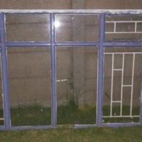 Window frame with glass