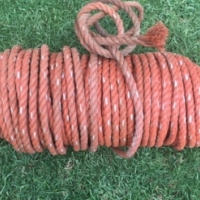 70m of 15mm thick nylon rope for sale