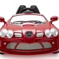 Mercedes SLR battery operated ride on car