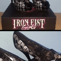 Iron Fist Heels for sale