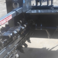 Skid steer and Tractor mount attachments (Trenchers, Augers etc)