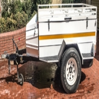 Torsion 1.5 Ton Trailer With Roof Rack.