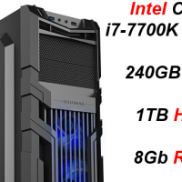 Custom Built Budget Pro Gaming i7-7700K (GTX 1070) PC