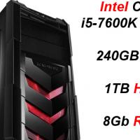 Custom Built Budget Pro Gaming i5-7600K (GTX 1070) PC