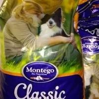 Montego classic dog food