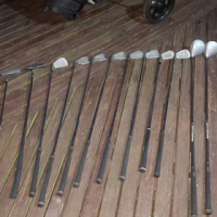 Tony Penna golf club set.