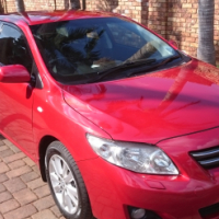2007 Toyota Corolla 1.8 Executive Full House, Only 200 000km's in excellent condition.