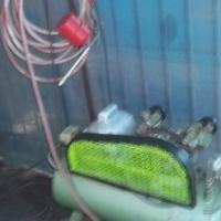 50 litre double head belt driven compressor