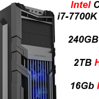 Custom Built Budget Elite Gaming i7-7700K (GTX 1080) PC