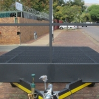FLAT DECK TRAILER - 1 x Axle 1600kg.