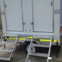 Mobile Vip Toilet Trailer